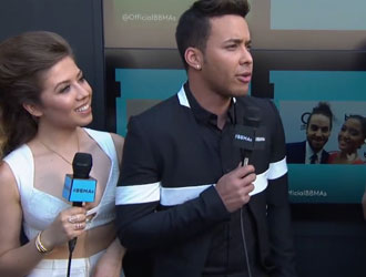 Prince Royce on the 2015 Billboard Music Awards Red Carpet