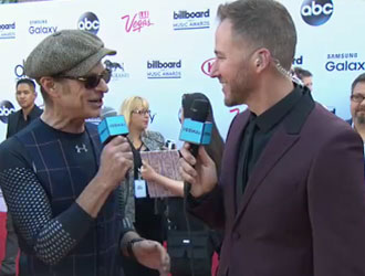 David Lee Roth on the 2015 BBMAs Red Carpet