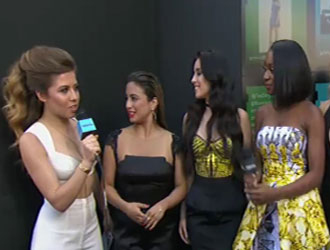 Fifth Harmony on the 2015 Billboard Music Awards Red Carpet