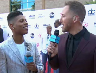 Yazz The Greatest on the 2015 BBMAs Red Carpet