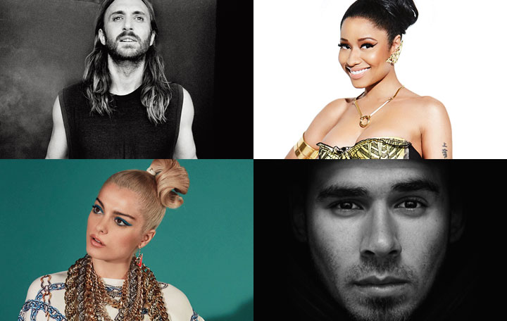 "David Guetta ft. Nicki Minaj, Bebe Rexha & Afrojack ""Hey Mama"""