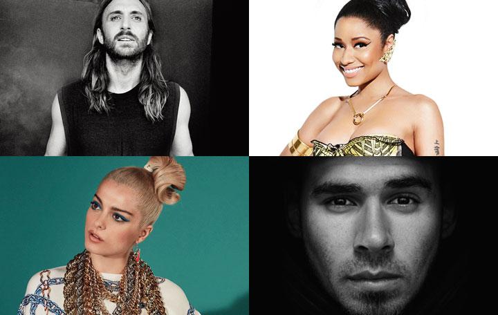 "David Guetta ft. Nicki Minaj, Bebe Rexha & Afrojack ""Hey Mama"""