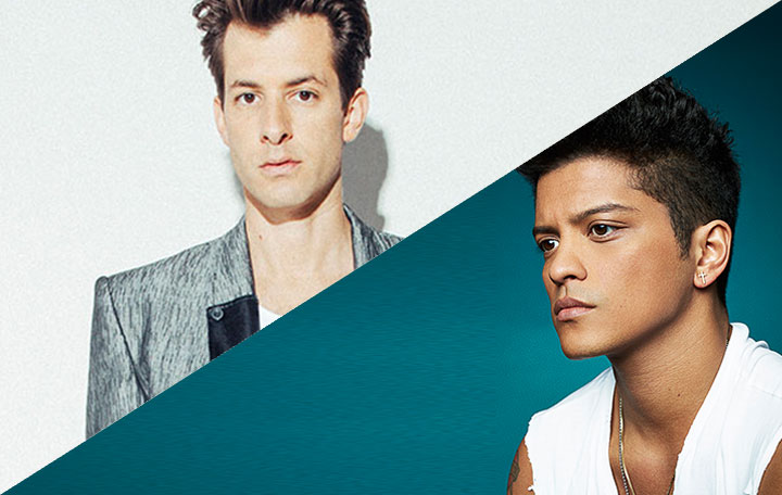 "Mark Ronson ft. Bruno Mars ""Uptown Funk!"""
