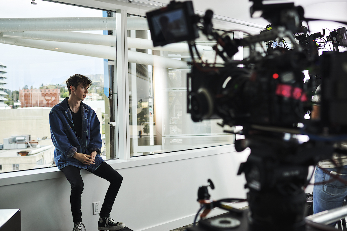 Photo Gallery Behind The Scenes With Troye Sivan