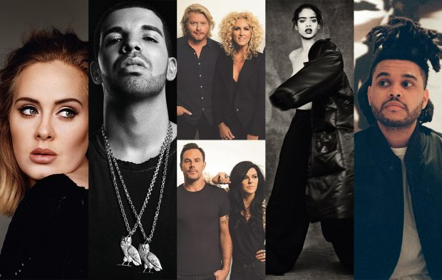 VOTING OPENS TODAY FOR BILLBOARD CHART ACHIEVEMENT AWARD