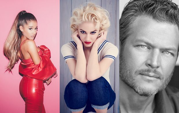 ARIANA GRANDE, BLAKE & GWEN TO PERFORM ON BBMAS