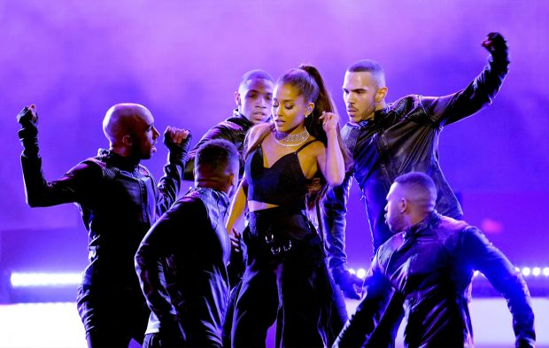 "Ariana Grande Lights up the BBMAs Stage with ""Into You"""
