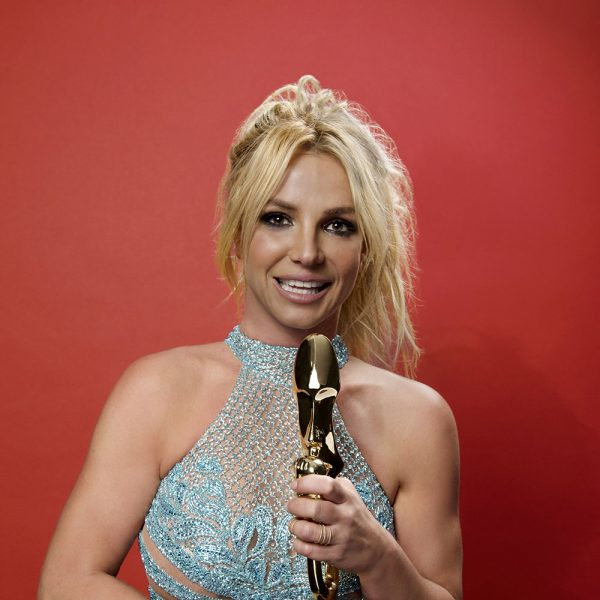 Britney Spears in the 2016 BBMAs Backstage Portrait Booth