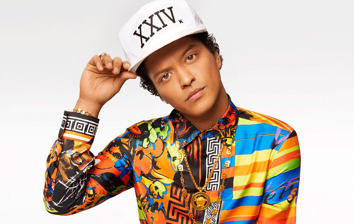 "Bruno Mars ""24K Magic"""