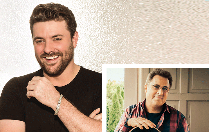 "Chris Young Featuring Vince Gill ""Sober Saturday Night"""
