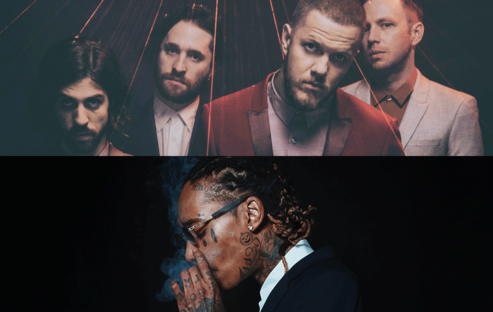 "Lil Wayne, Wiz Khalifa & Imagine Dragons with Logic & Ty Dolla $ign Feat. X Ambassadors ""Sucker For Pain"""