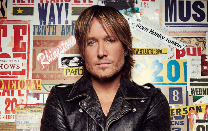 "Keith Urban ""Blue Ain't Your Color"""