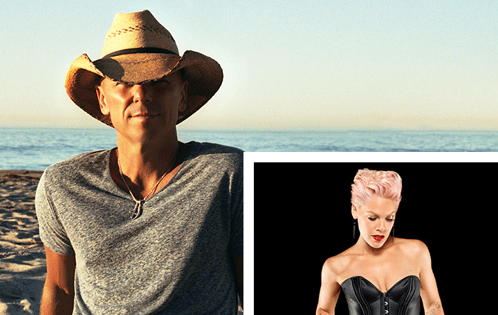 "Kenny Chesney Featuring P!NK ""Setting The World On Fire"""