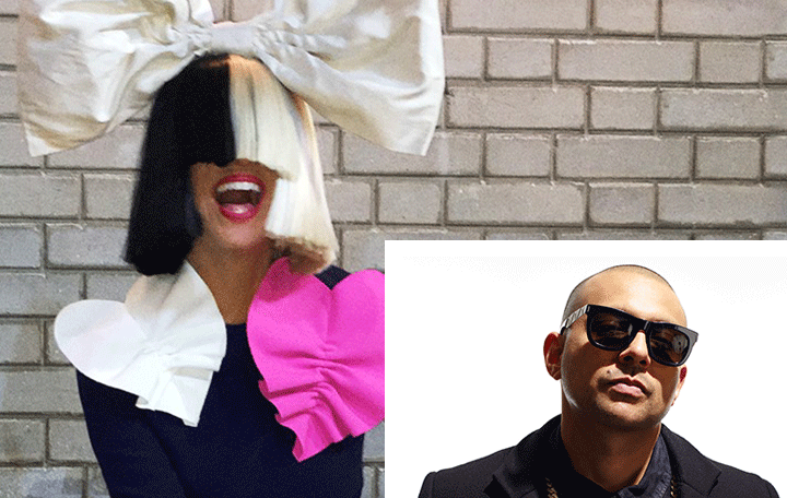 "Sia Featuring Sean Paul ""Cheap Thrills"""