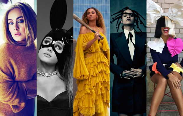 What if the Top Female Artist Nominees Were Superheroes?