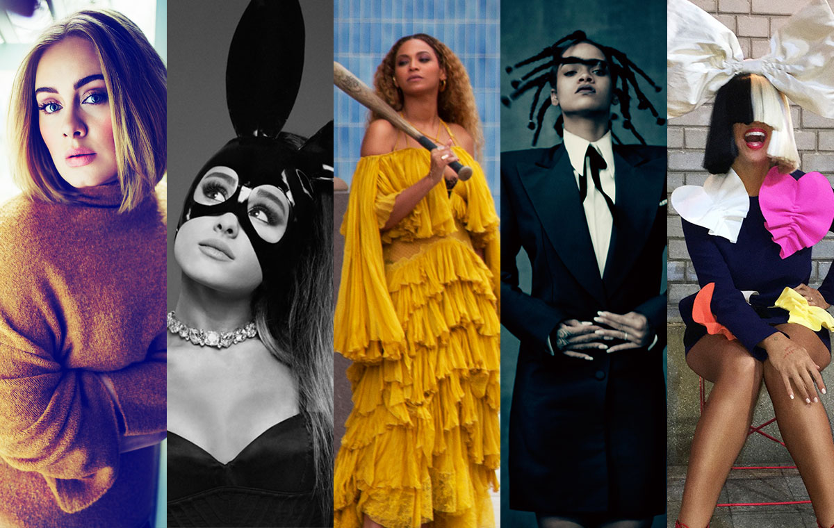 What if the Top Female Artist Nominees Were Superheroes