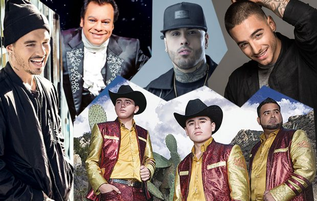 These Top Latin Artist Nominees are CALIENTE!