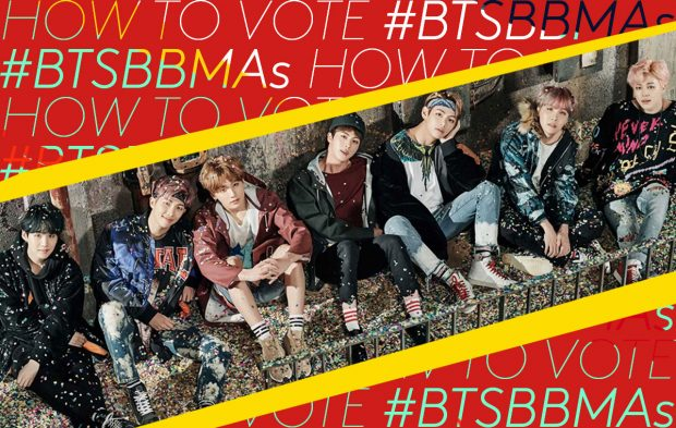 How to Vote for BTS for Top Social Artist