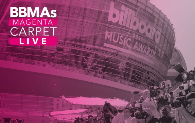 Watch the BBMAs Magenta Carpet Live HERE