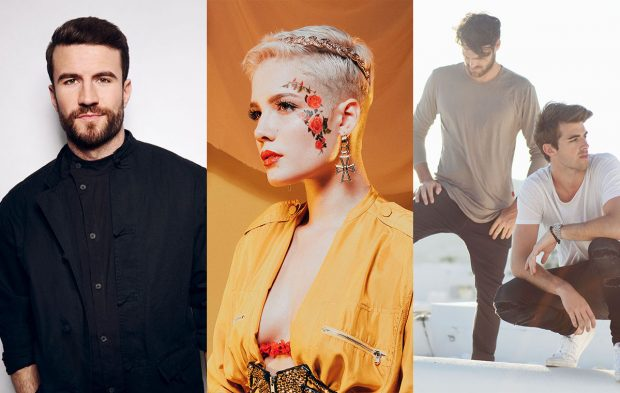 The Chainsmokers, Sam Hunt and Halsey to Perform