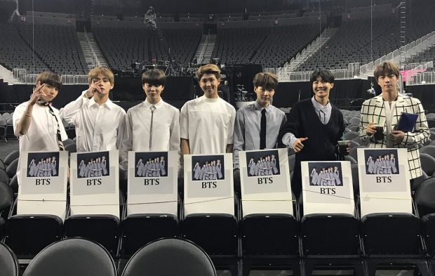 BTS Is Getting Ready for the 2017 BBMAs in Las Vegas