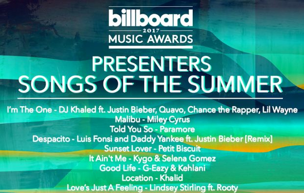 Listen Now! BBMAs Presenters' Songs of the Summer Playlist