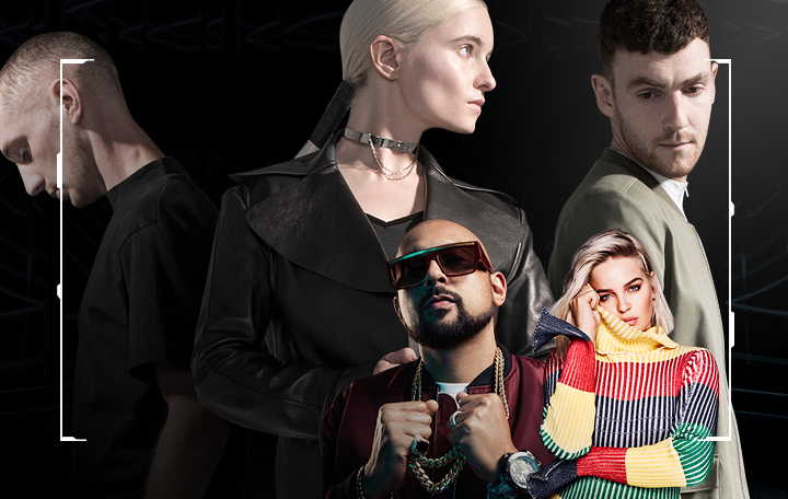 "Clean Bandit ft. Sean Paul & Anne-Marie ""Rockabye"""