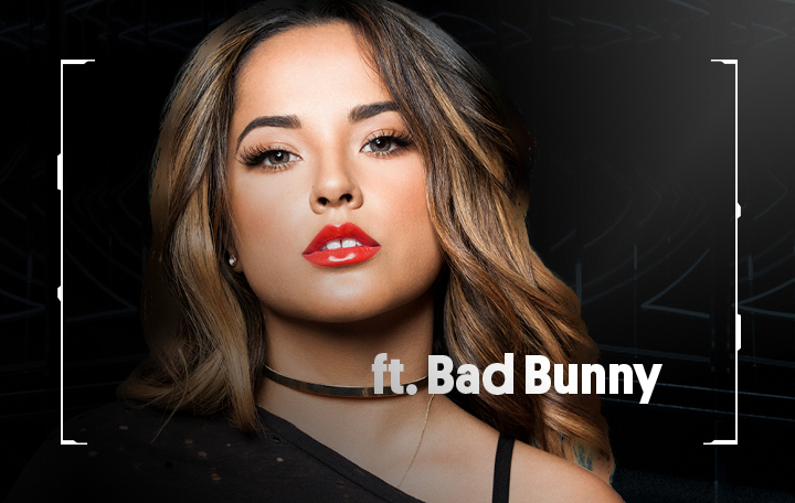 "Becky G ft. Bad Bunny ""Mayores"""