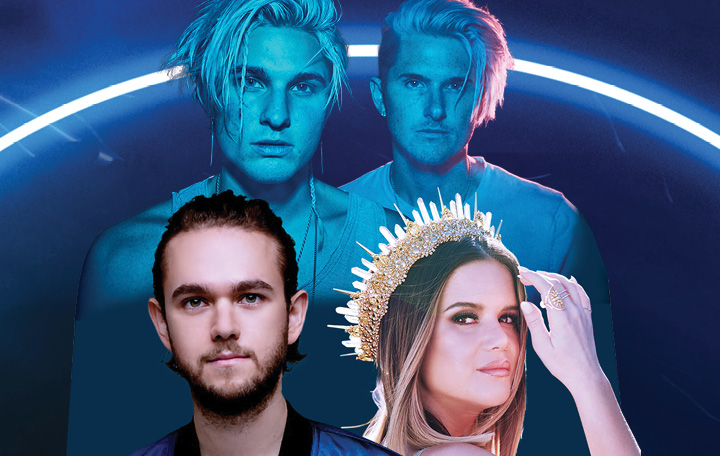 "Zedd, Maren Morris & Grey ""The Middle"""