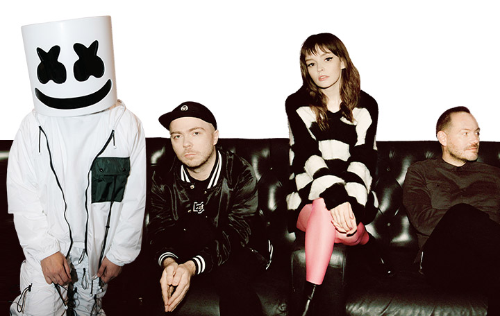 "Marshmello ft. CHVRCHES ""Here With Me"""