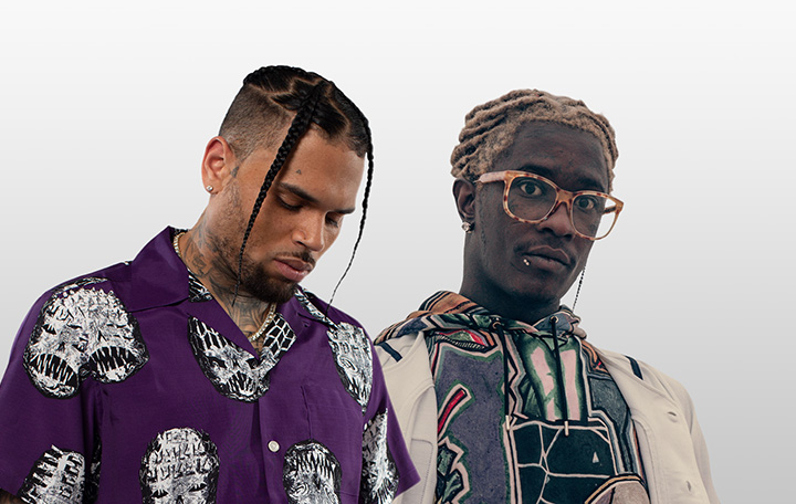 "Chris Brown & Young Thug ""Go Crazy"""