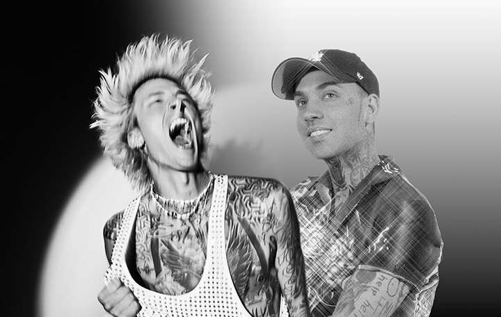 "Machine Gun Kelly ft. blackbear ""my ex's best friend"""